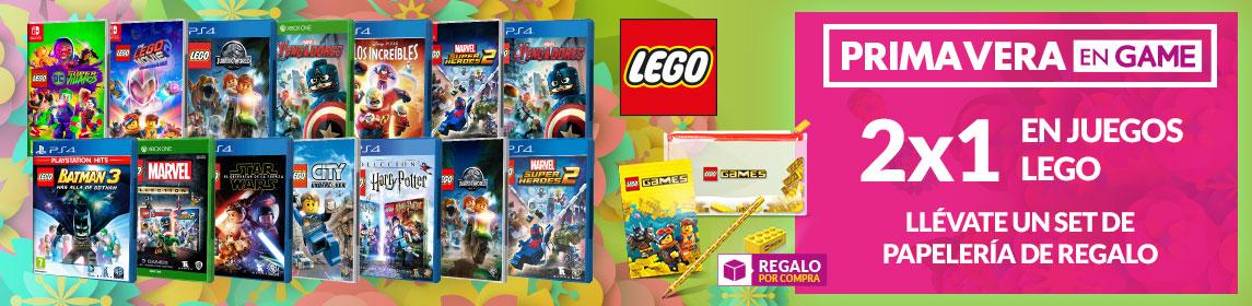 ¡Primavera GAME! 2X1 juegos LEGO