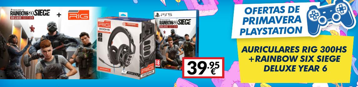 ¡Primavera PlayStation! Pack Auriculares