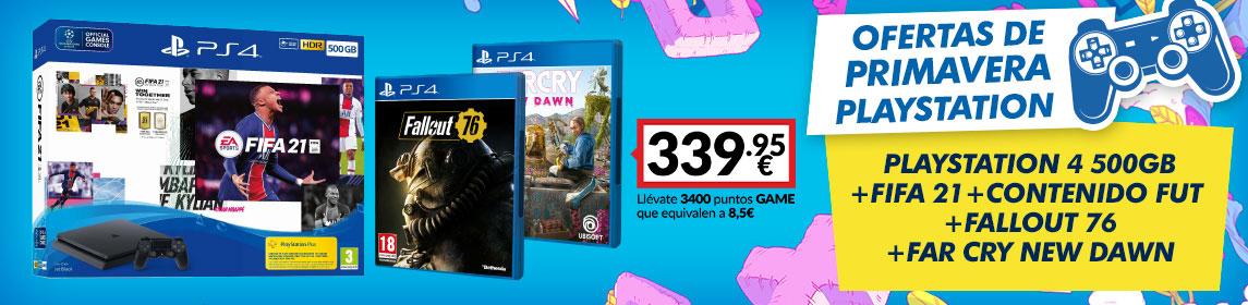 ¡Primavera PlayStation! Pack PS4