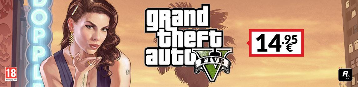 ¡Primavera PlayStation! GTA V por 14,95€