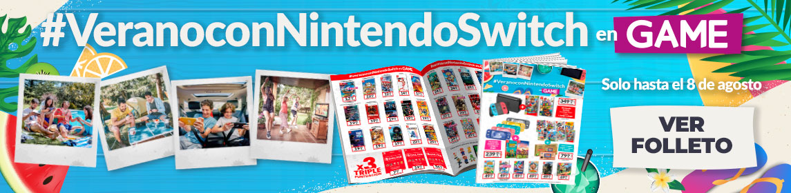 ¡Verano Nintendo! Todas las ofertas
