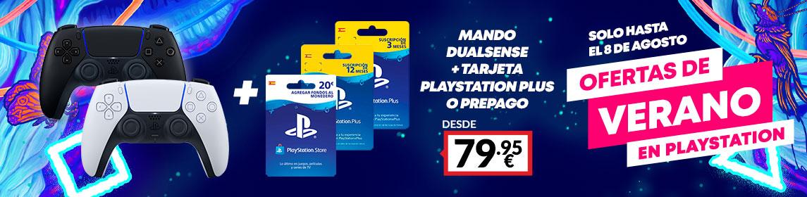 ¡Verano PlayStation! Dualsense + PSN