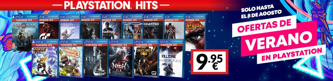 ¡Verano Playstation! PS Hits a 9,95€