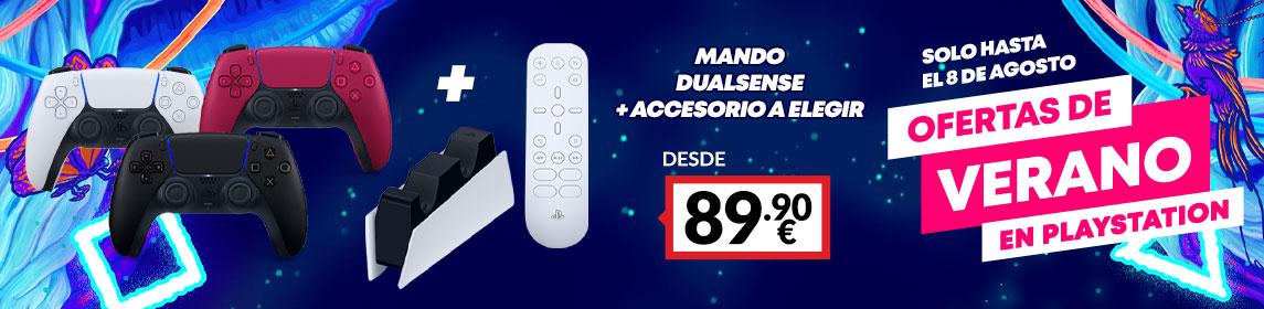 ¡Verano Playstation! Dualsense + Accesorio