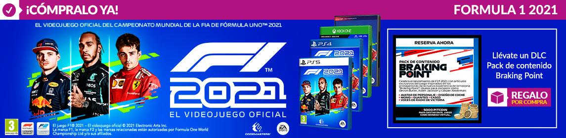 ¡Novedad! Formula 1 2021 + DLC