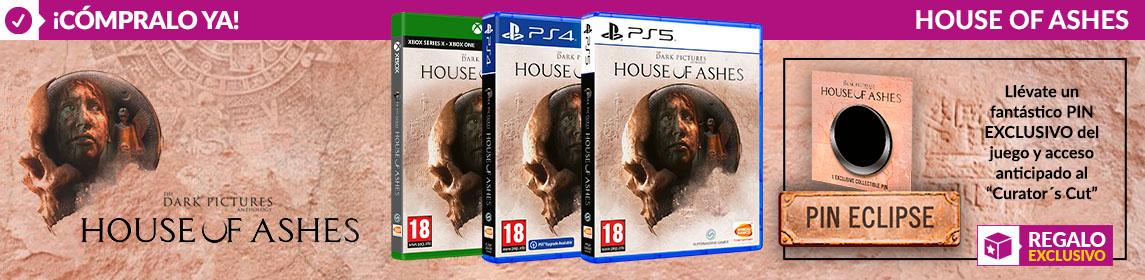 ¡Novedad! House of Ashes + PIN