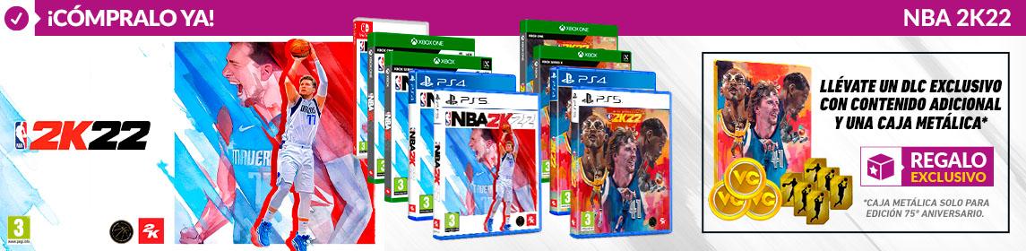 ¡Novedad! NBA 2K22 + DLC Exclusivo