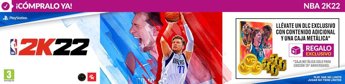 ¡Novedad! NBA 2K22 + DLC