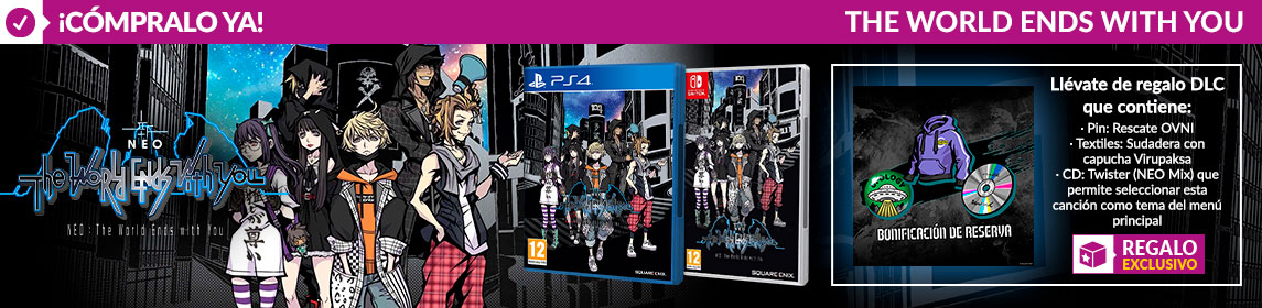 ¡Novedad! Neo The World Ends With You + DLC
