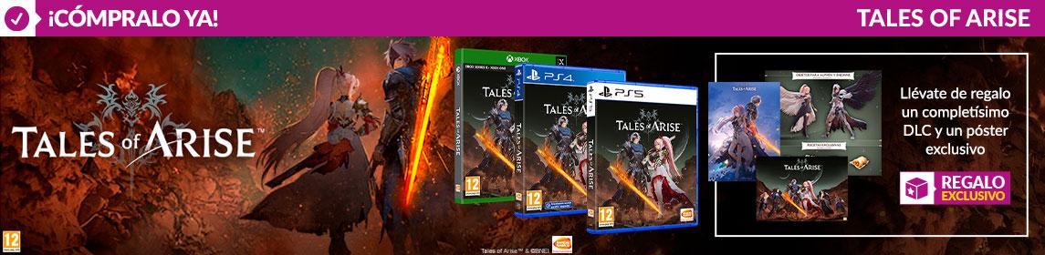 ¡Novedad! Tales of Arise + Poster + DLC