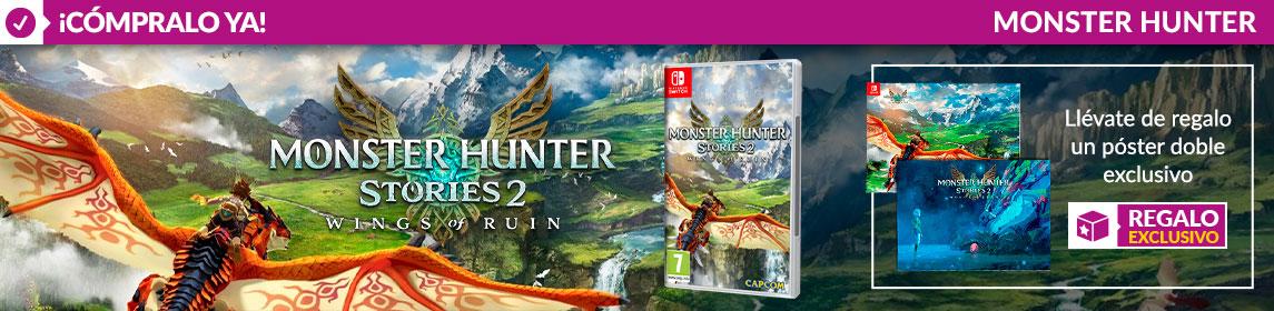 ¡Novedad! Monster Hunter Stories 2