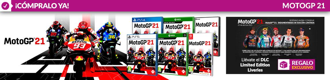 ¡Novedad! MotoGP 21 + DLC