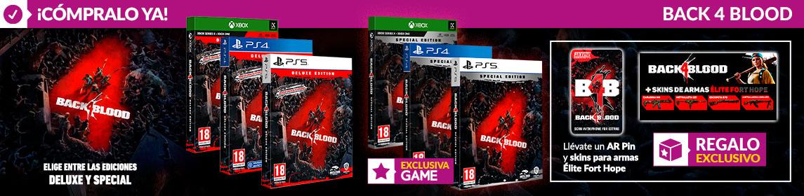 ¡Novedad! Back 4 Blood + DLC