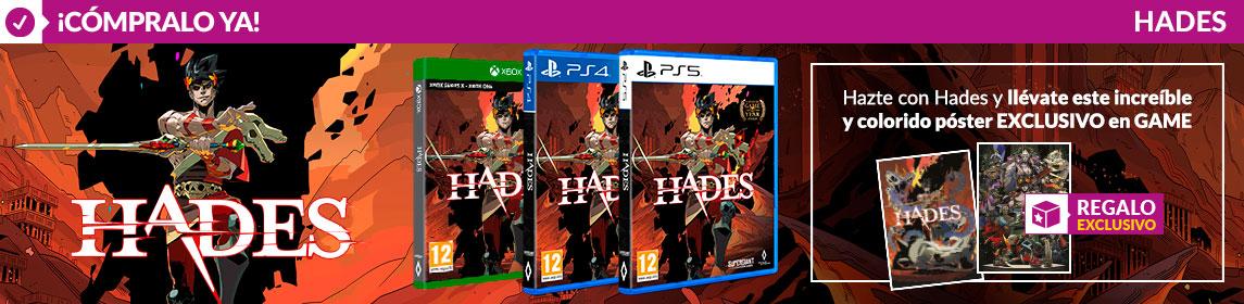 ¡Novedad! Hades + póster