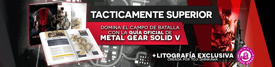 Guía Metal Gear Solid V The Phantom pain