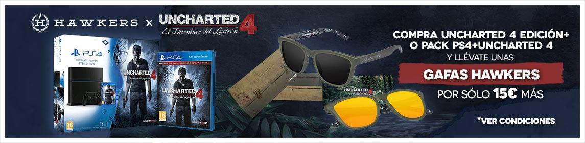 Oferta Uncharted 4+ Gafas Hawkers