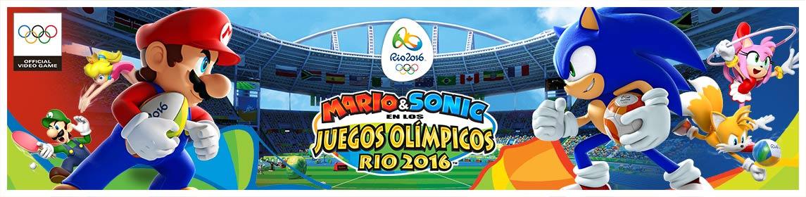 Mario & Sonic en los JJOO Río 2016