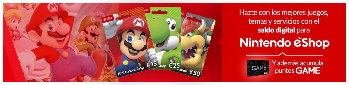 Monedero Nintendo eShop