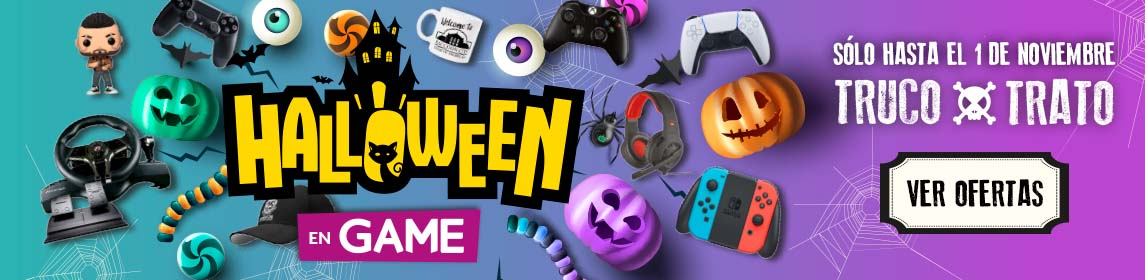 ¡Halloween en GAME!