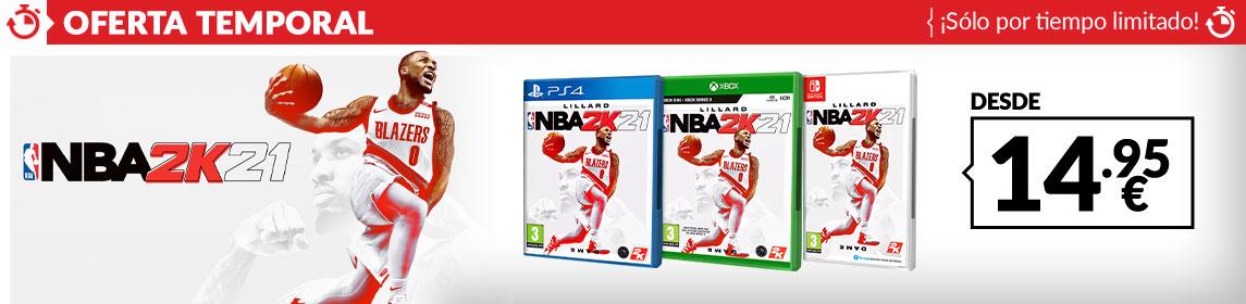¡Oferta! NBA 2K21