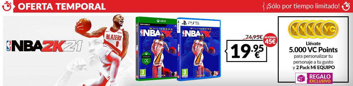 ¡Oferta! NBA 2K21 + 5000 VC