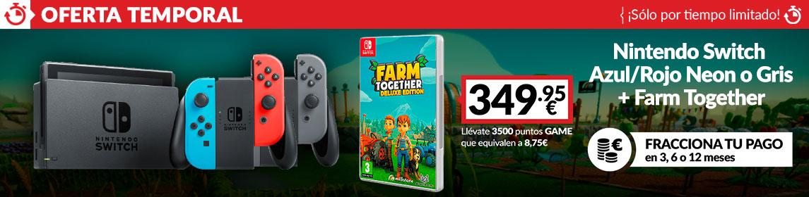 ¡Oferta! Nintendo Switch + Farm Together