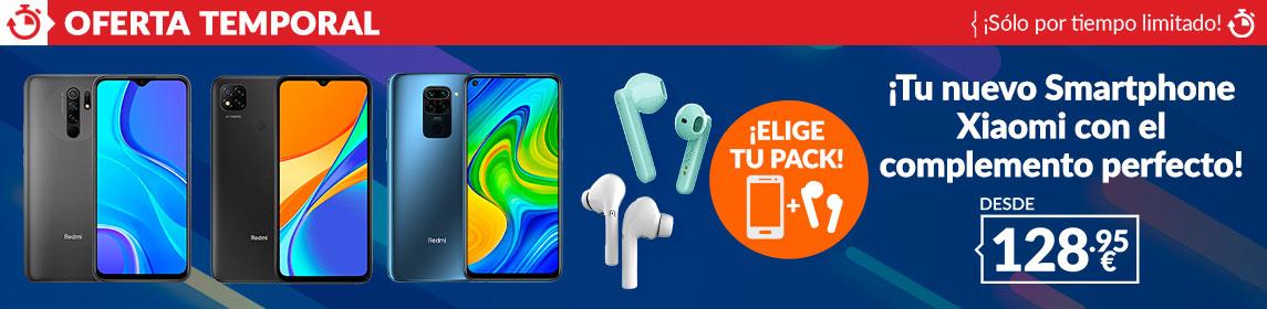 ¡Oferta! Pack Teléfono Xiaomi + Auriculares