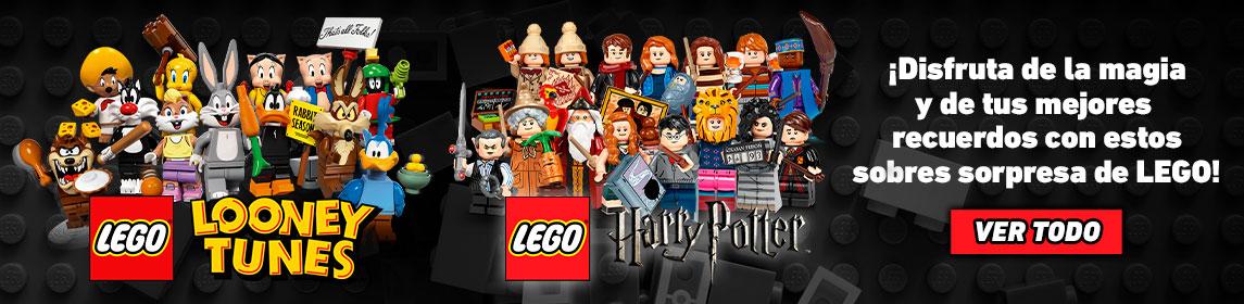 Figuras Lego Looney Tunes y Harry Potter