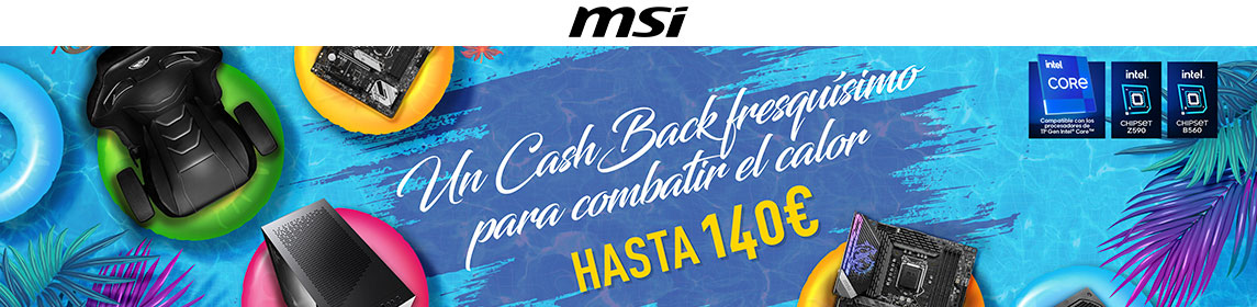 ¡Ofertas MSI Cashback!