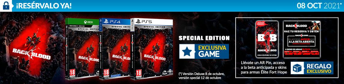 ¡Reserva! Back 4 Blood + PIN