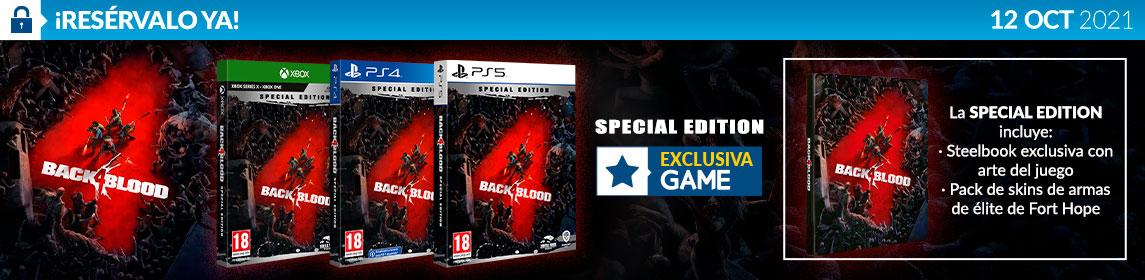 ¡Reserva! Back 4 Blood
