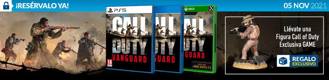 ¡Reserva! Call Of Duty Vanguard + Figura