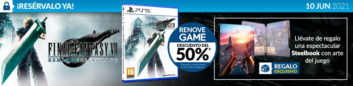 ¡Reserva! Final Fantasy VII