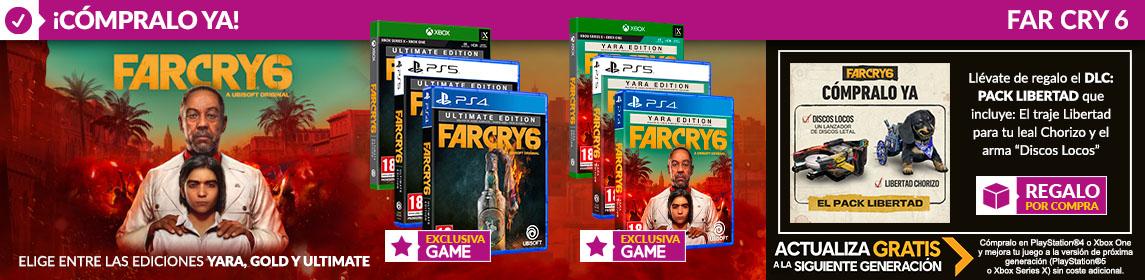 ¡Novedad! Far Cry 6 + DLC