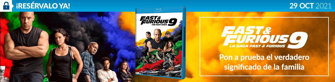 ¡Reserva! Fast & Furious 9