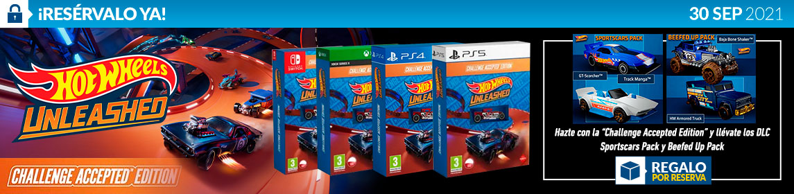 ¡Reserva! Hot Wheels Unleashed Accepted Edition