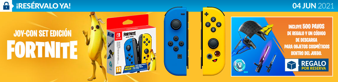 ¡Reserva! Joy-Con Fornite