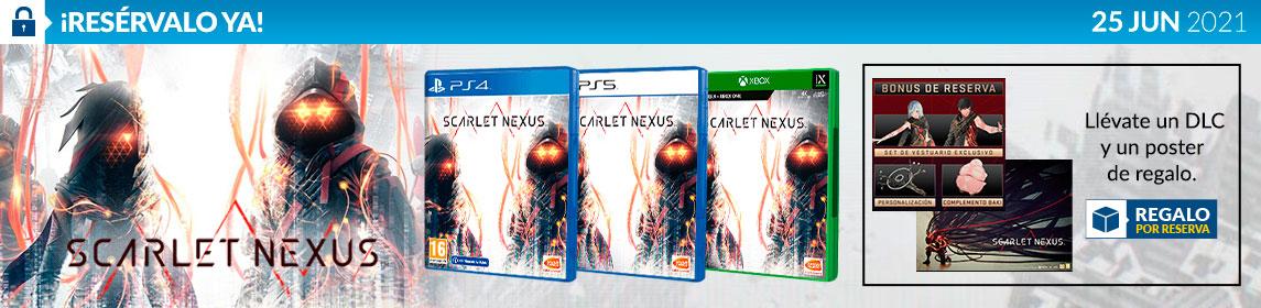 ¡Reserva! Scarlet Nexus