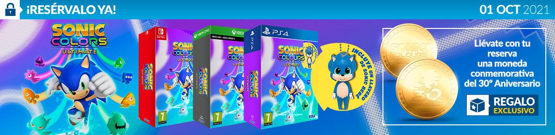 ¡Reserva! Sonic Colours Ultimate + Moneda