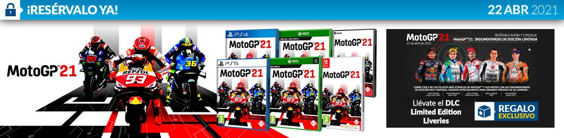 ¡Reserva! MotoGP21 + DLC