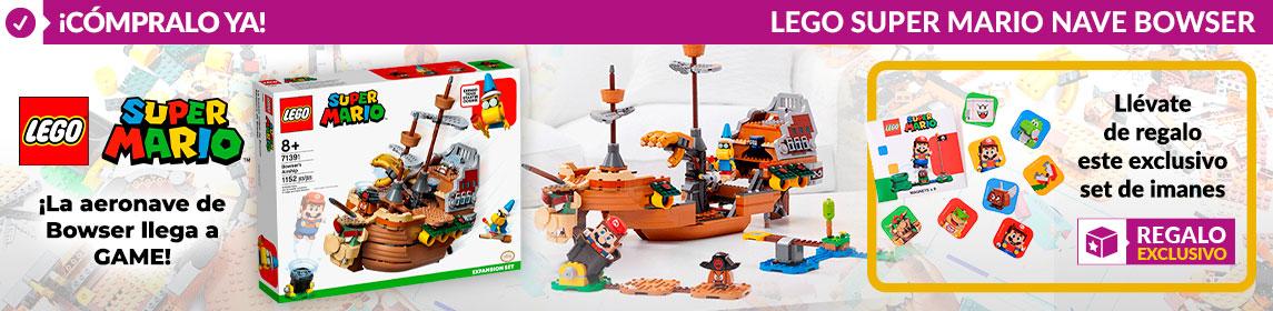 ¡Novedad! LEGO Barco de Bowser