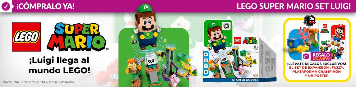 ¡Novedad! LEGO Aventuras con Luigi