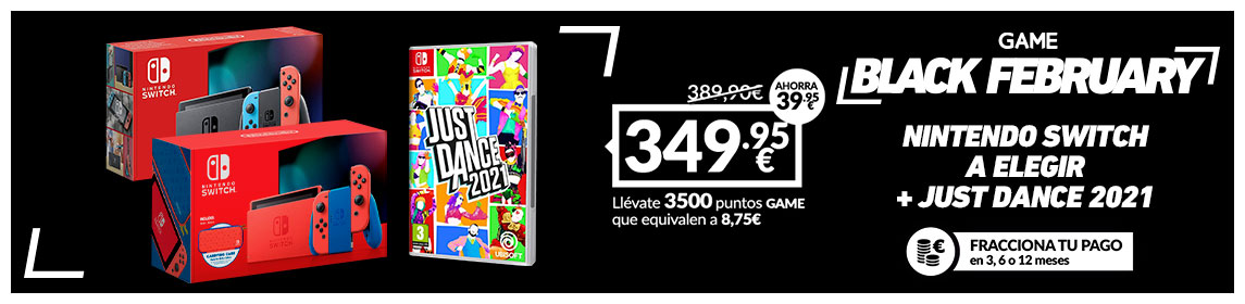 ¡Black February! Nintendo Switch + Just Dance 2021