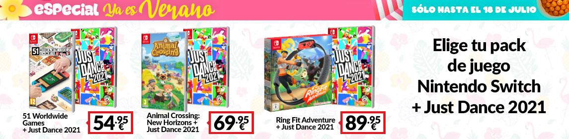 ¡Verano en GAME! Packs Nintendo Switch
