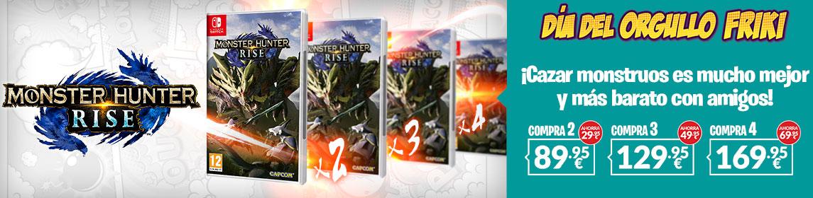 ¡Orgullo Friki! Packs Monster Hunter