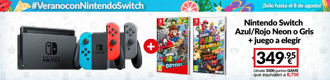 ¡Oferta! Consola Switch + Juego Mario