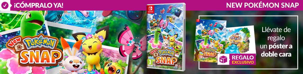 ¡Novedad! New Pokémon Snap + póster