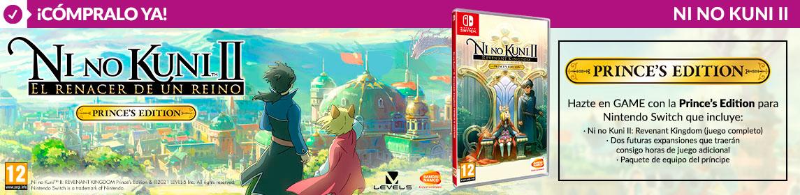 ¡Novedad! Ni No Kuni II Prince´s Edition