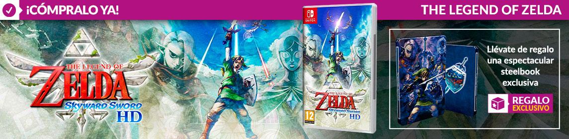 ¡Novedad! The Legend of Zelda Skyward