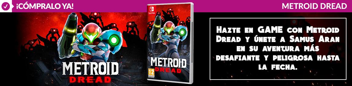 ¡Novedad! Metroid Dread
